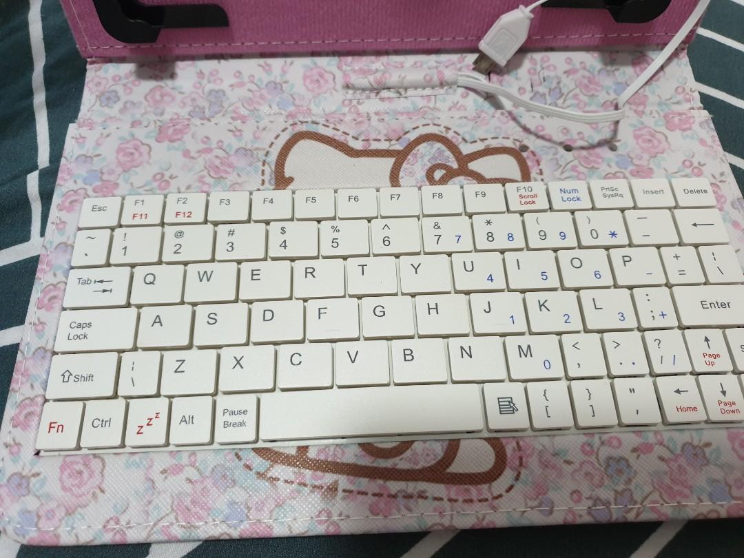 Hello kitty OTG keyboard
