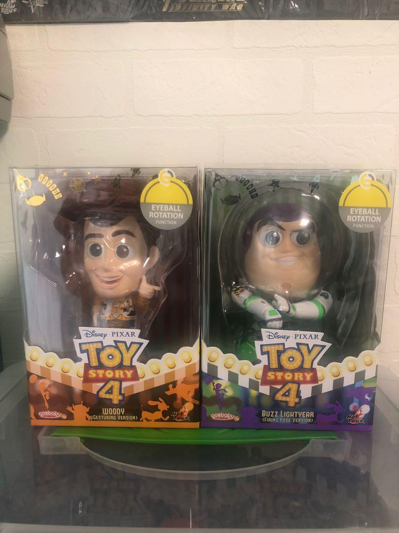Hot Toy Cosbaby Toy Story Woody&Buzz