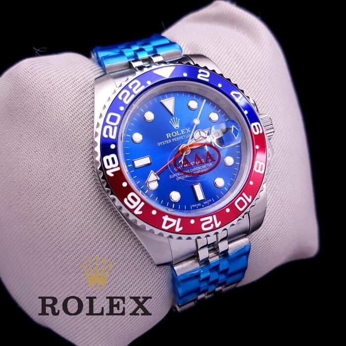 Jam Tangan Pria Merk Rolex GMT Master II Type 16099 Automatic Ceramica