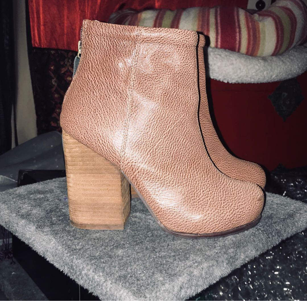 Jeffrey Campbell Havana leather ankle boots