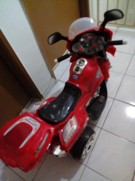 Kid electric motor bike and car