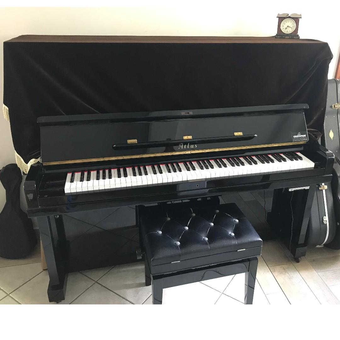 Made in Japan Exam piano installed with Genio silencer system