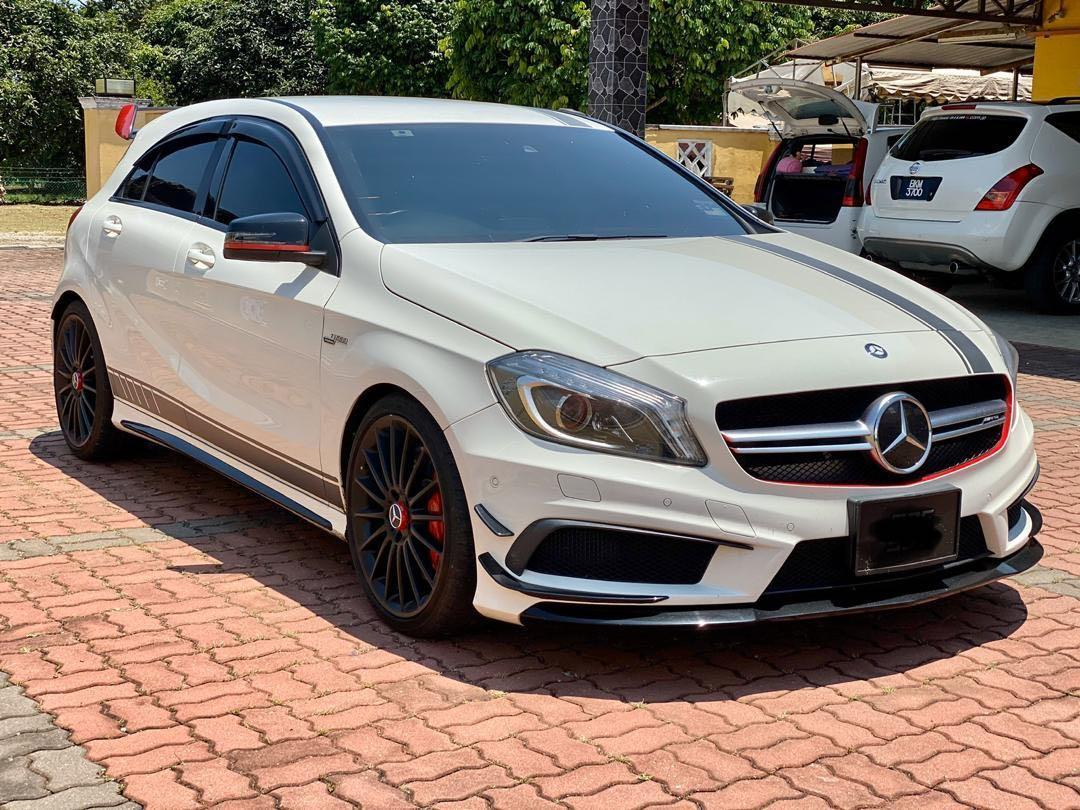 MERCEDES BENZ A45 AMG 4 MATIC 2.0 TURBO 375HP EDITION 1 SEWABELI BERDEPOSIT