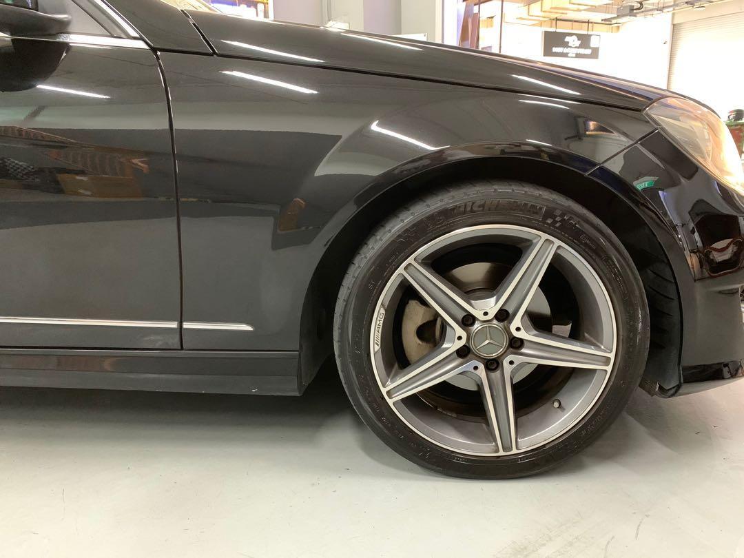 Mercedes-Benz C180 CGI BlueEfficiency 7G-Tronic (A)