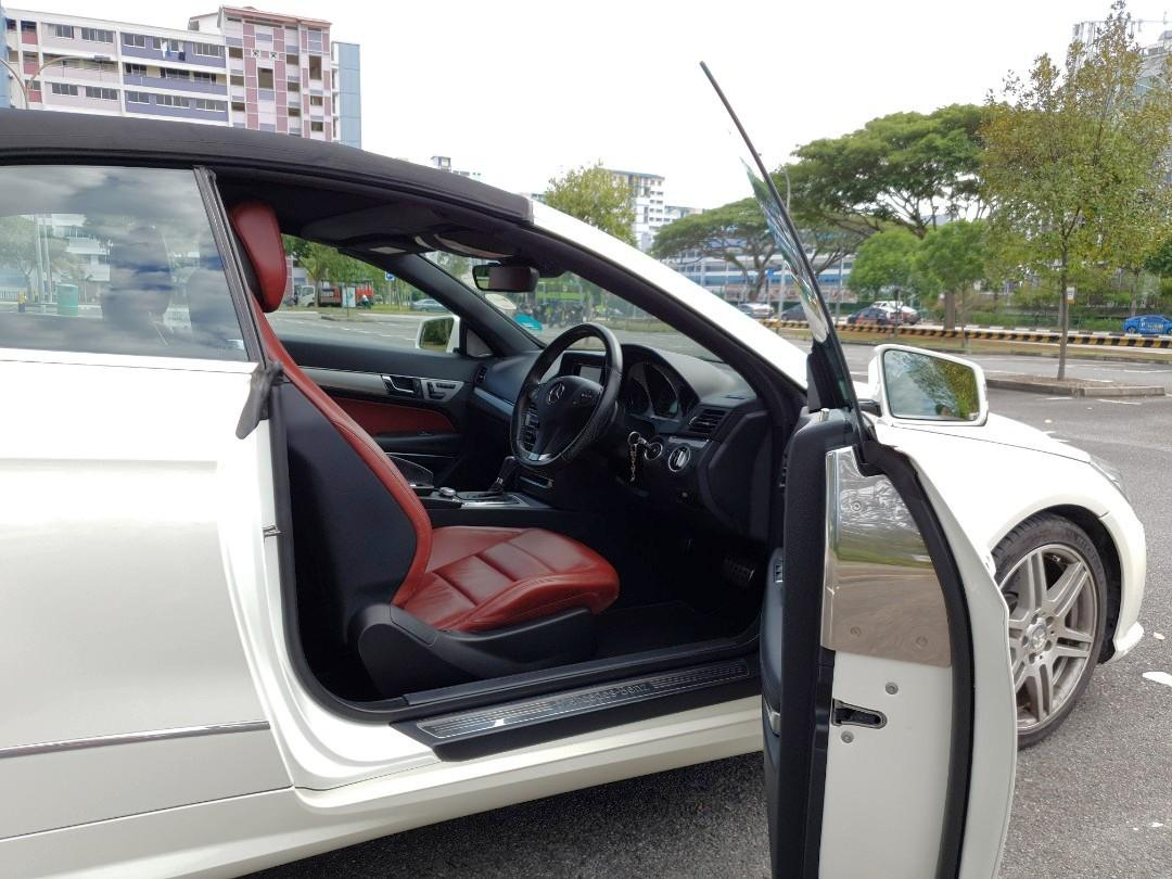 Mercedes-Benz E250 Cabriolet CGI BlueEfficiency (A)
