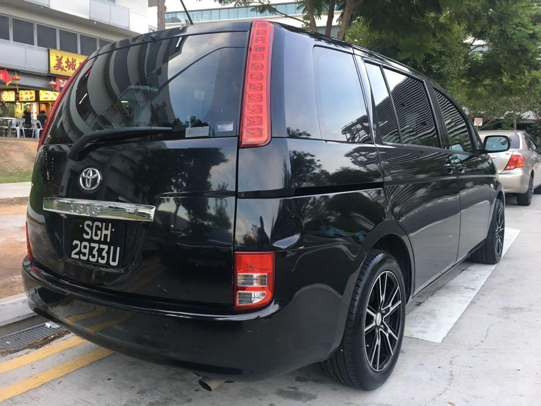$1300 monthly, $43 per day MPV 7 seater Toyota ISIS for rent