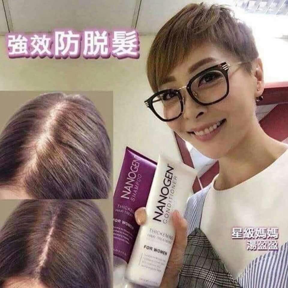 只限20支!限時優惠!! Nanogen 7合1防脫髮洗頭水/護髮素 Women 7 in 1 Hair Thickening Shampoo and Conditioner