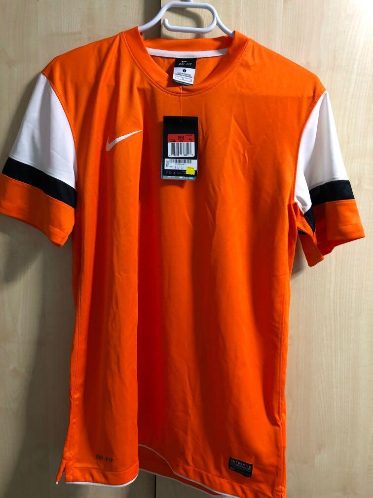 Nike orange dry fit with tag large