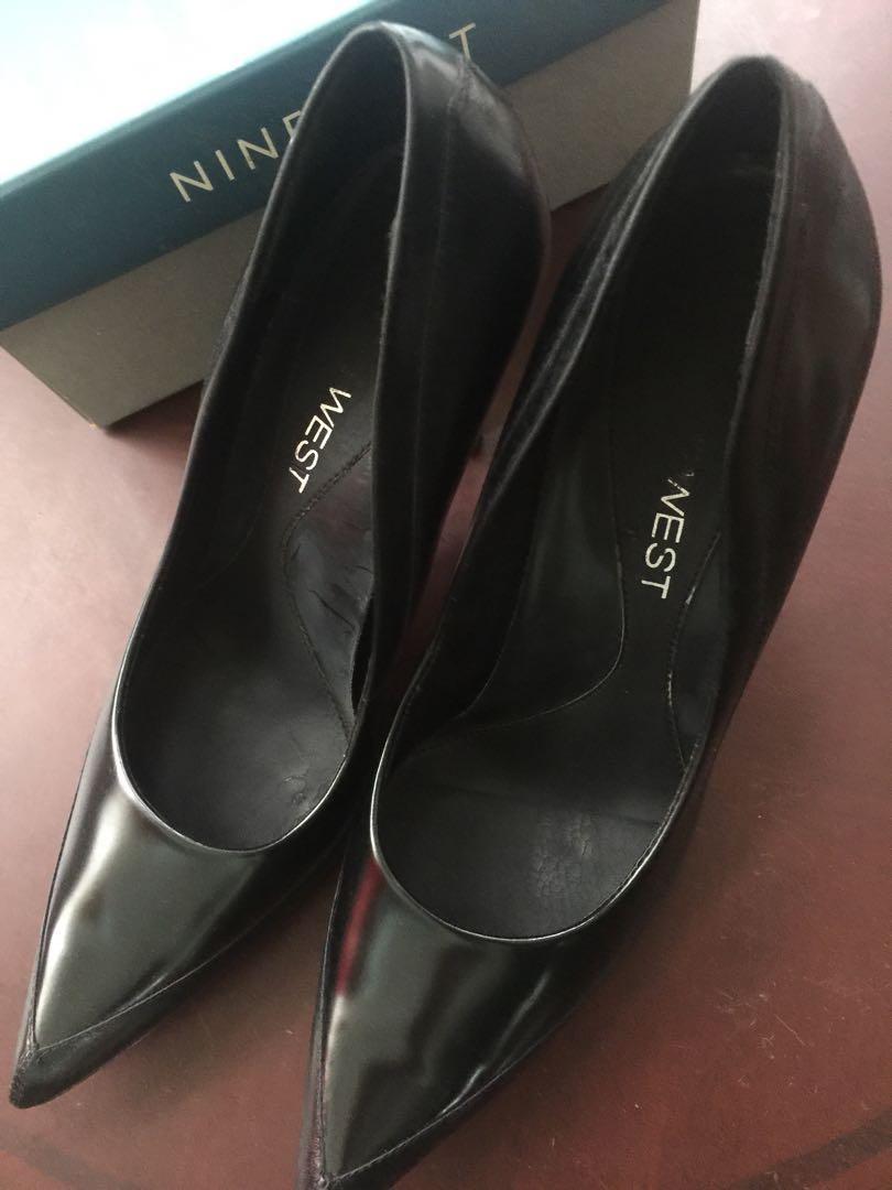 Nine West 黑細跟鞋