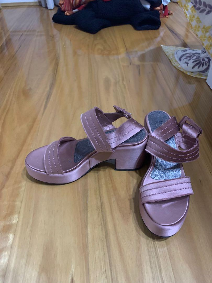 Pedro Garcia light pink/lilac mules (size 39) never worn