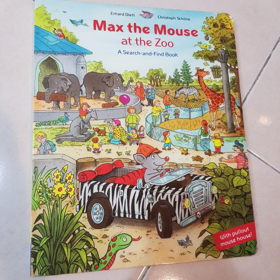 Pre❤ Max the Mouse Search and Find Book