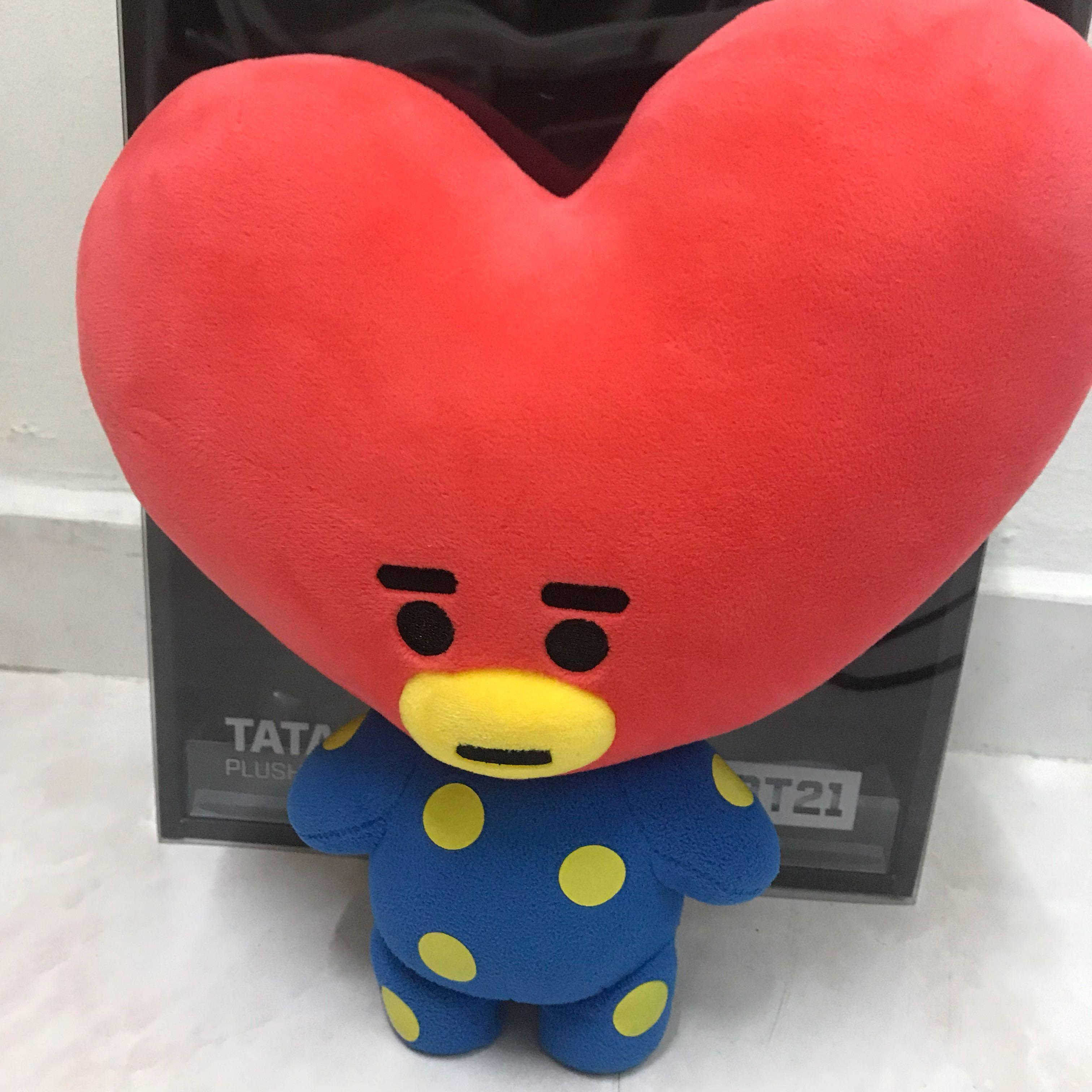 [preloved readystock] WTS BT21 Tata plush doll official bts