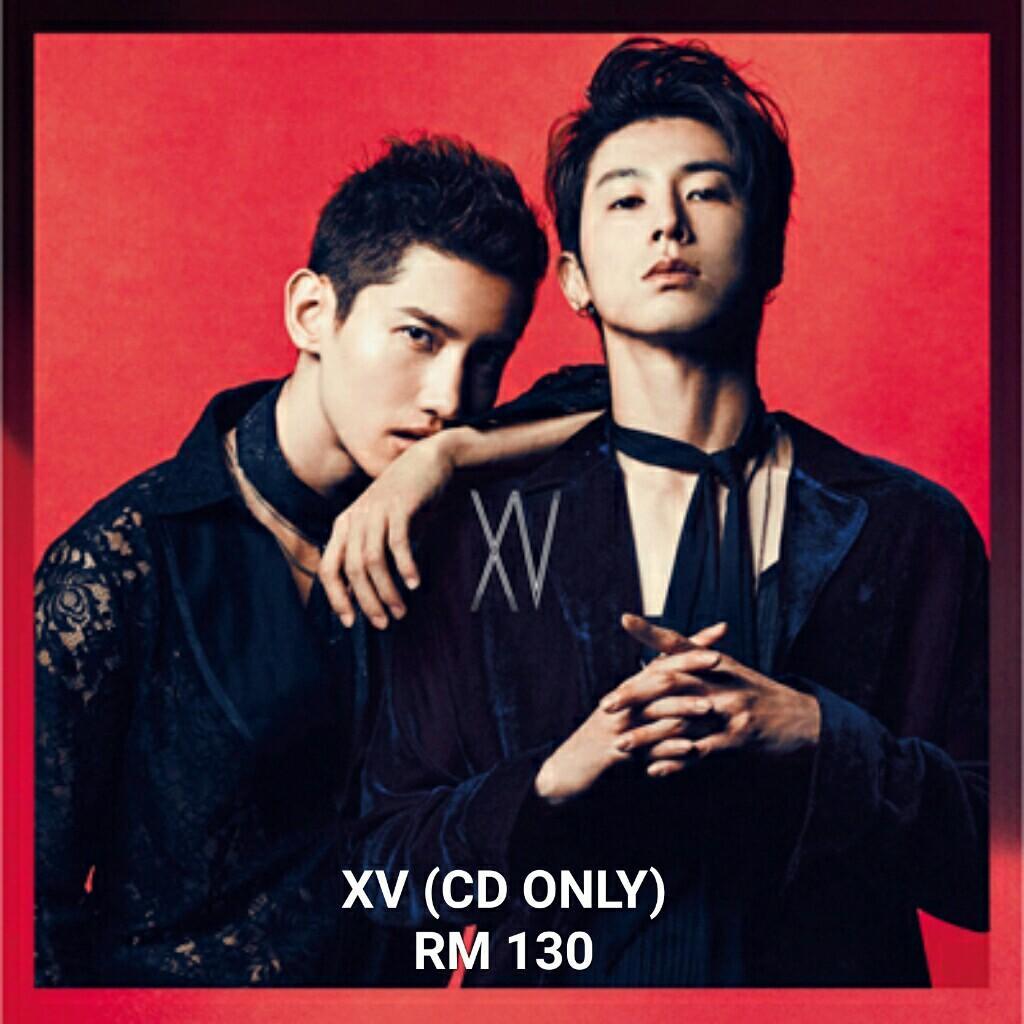 [PRE-ORDER] TVXQ Tohoshinki 東方神起 15th ANNIVERSARY XV album.