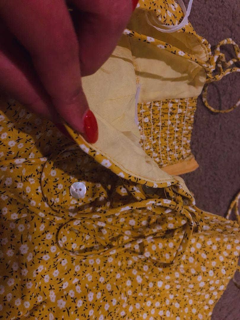 Princess Polly Floral Dress sz8