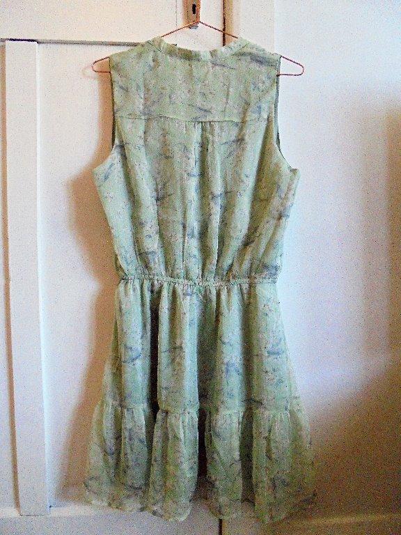 "Princess Polly IDS ""Tegan"" Floral Green Dress Sz8 NWT $70"