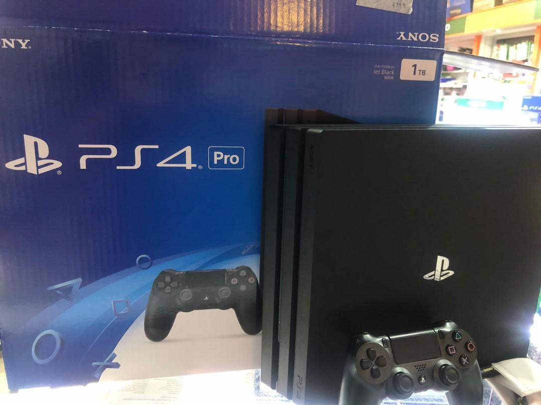 PS4 Pro 1tb trade in