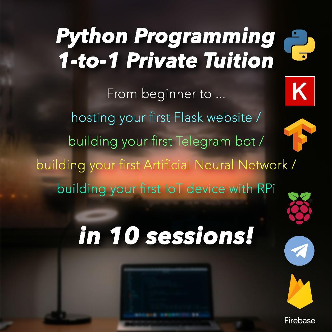 Python Programming Crash Course in 10 Sessions