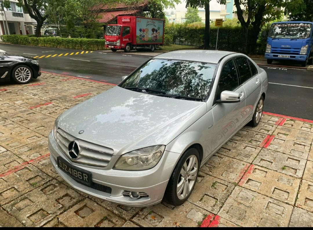 [Rental] Personal Mercedes C180 For Lease