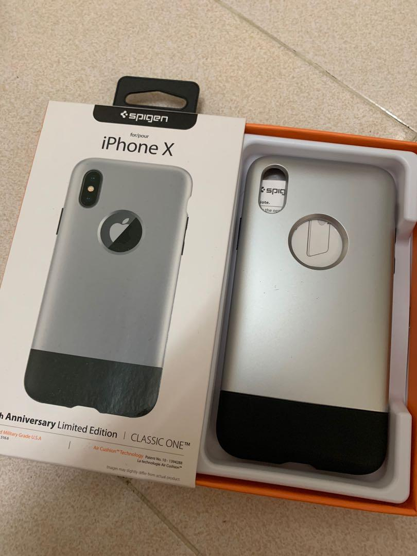 Spigen iPhone X Classic One Limited Edition Case