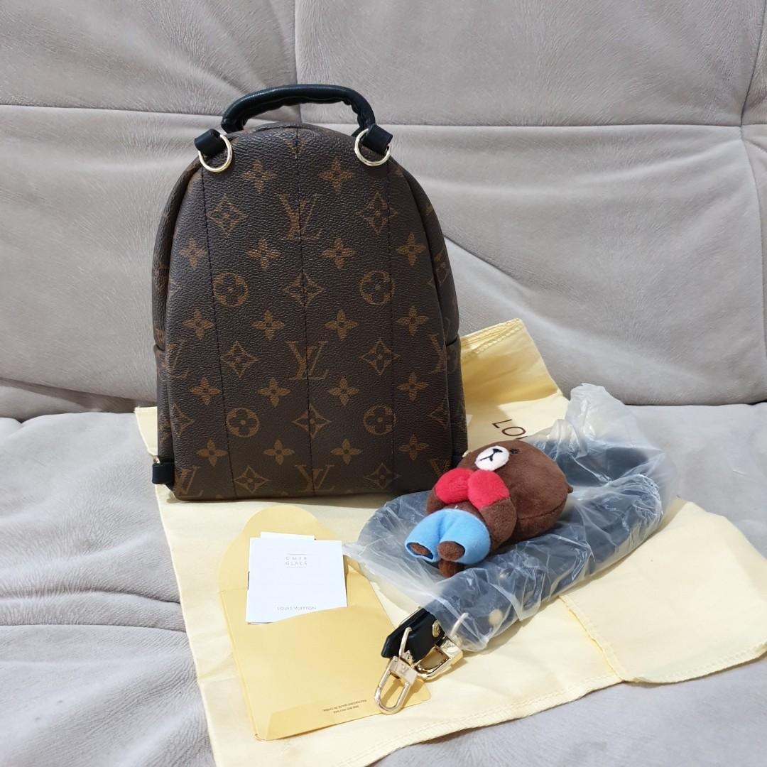 Tas Louis Vuitton Palm Springs Mini Premium Quality Bahan Bagus