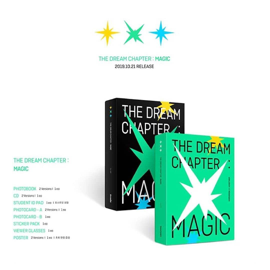 TOMORROW BY TOGETHER (TXT) - THE DREAM CHAPTER : MAGIC