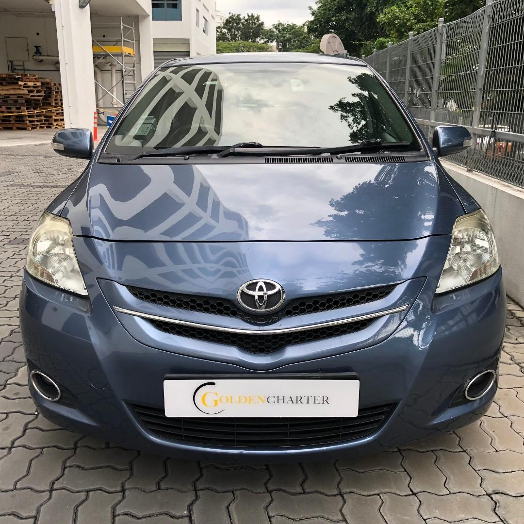 Toyota Car Toyota Vios For Rent ! gojek rebate to rent cheap. GRAB. Ryde. Tada. Personal can rent from us