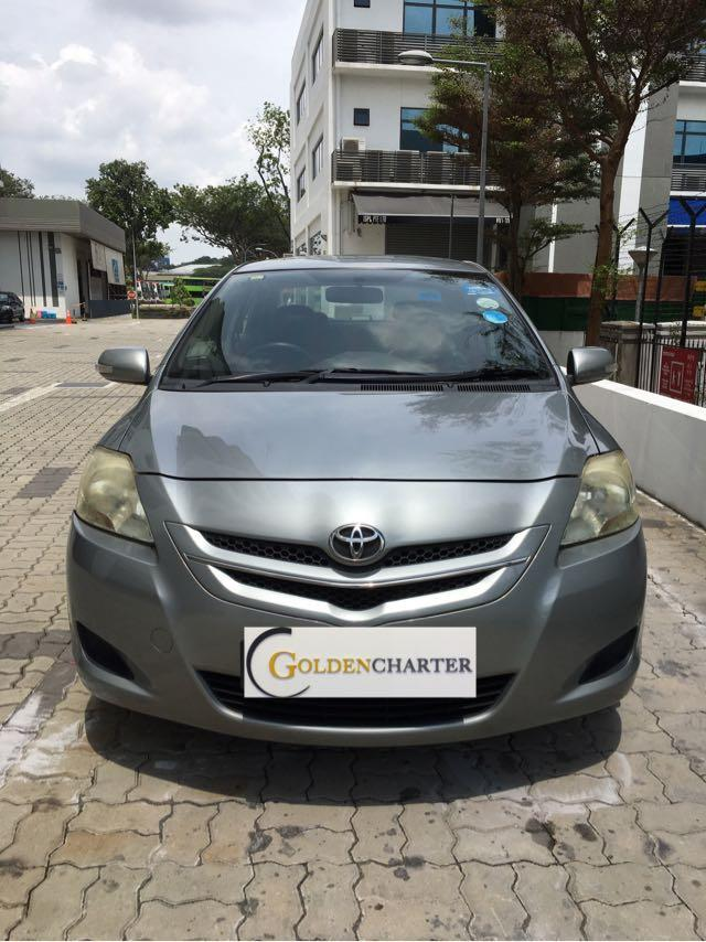 Toyota Vios, cheap and fuel efficient good for start up! Gojek. GRAB. PERSONAL.