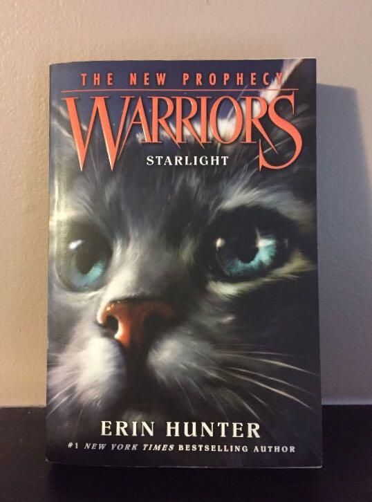 Warriors - The New Prophecy arc (Missing book 6 - Sunset)