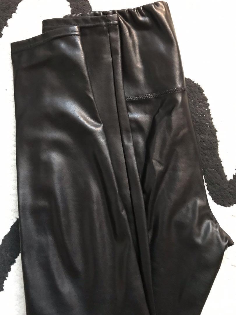 Wilfred free - Daria pant - faux leather legging - MEDIUM