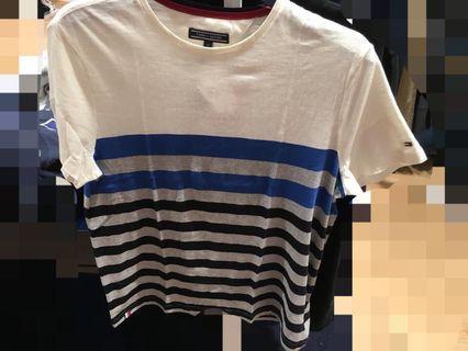 全新正品Tommy 男短袖上衣M號,原價$2680,現在只要2.5折喔