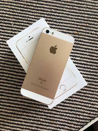 IPHONE SE, 32GB's, Rose Gold.