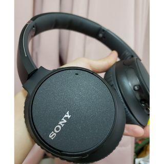 [二手]Sony WH-CH700N 無線藍牙降噪耳罩式耳機 黑色 9.9成新