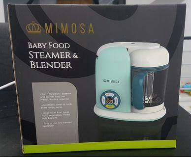 Mimosa Baby Food Steamer and Blender.