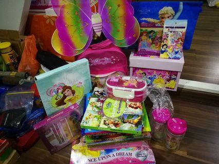 Princess related items