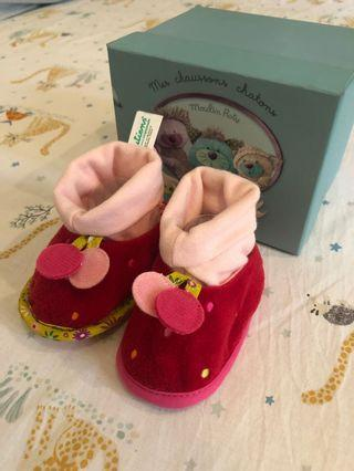 Baby Shoes Strawberry