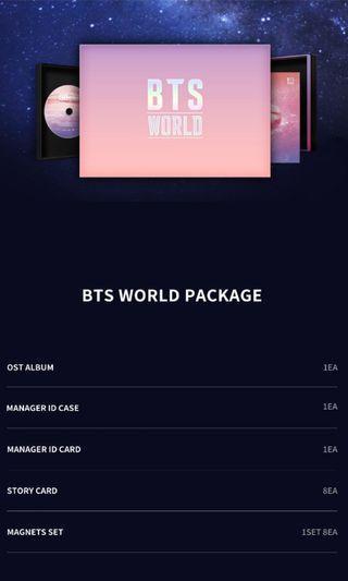 BTS WORLD LIMITED EDITION