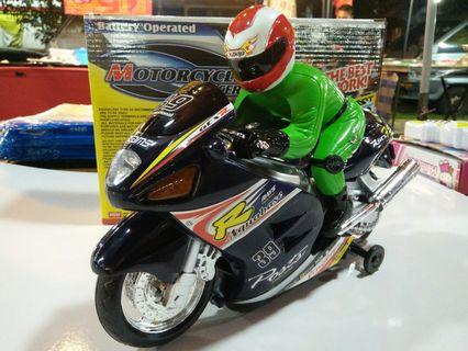 Battery Operated Motorcycle Racer