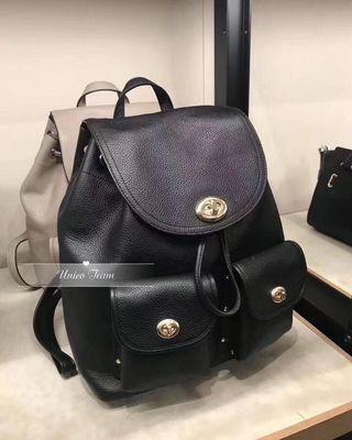 Coach Full Leather Backpack