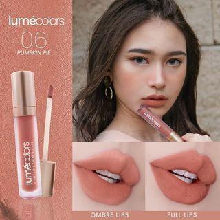 Lipmousse Pumpkin Pie Lumecolors