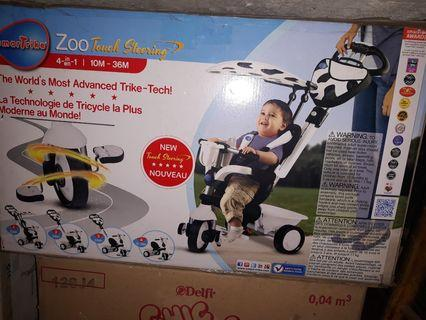Sepeda anak smart trike zoo 4in1