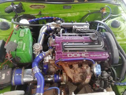 Engine Turbo Auto MITSUBISHI