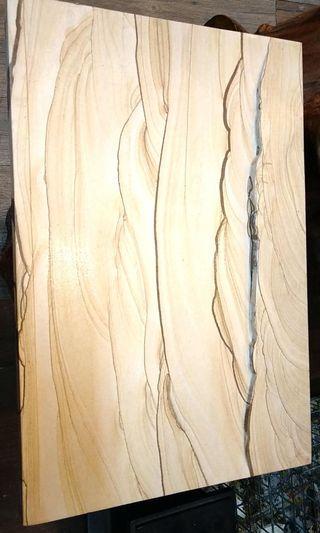 木紋石茶盤
