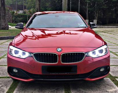 BMW F36 COUPE SEWA BELI