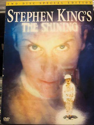 史蒂芬金Stephen King 鬼店The Shining 1997 迷你影集全3季(3DVD) 中文字幕3區