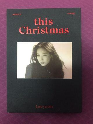 Taeyeon - This Christmas: winter is coming