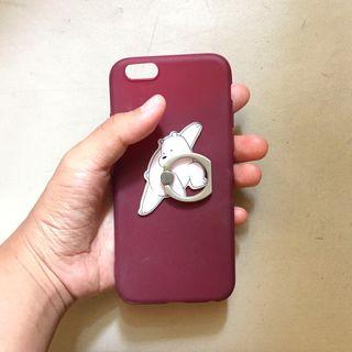 iPhone 6/6s case + iring