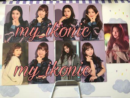 IZONE Photocard (Japan Goods)