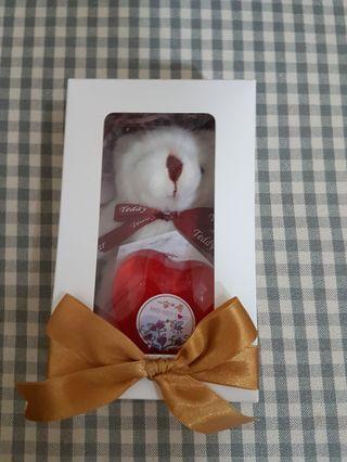 耶誕交換禮物首選 心願熊肥皂禮盒