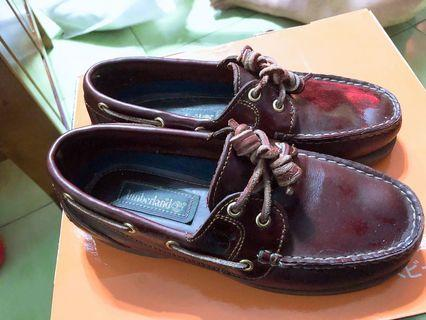 Timberland 九成新帆船鞋