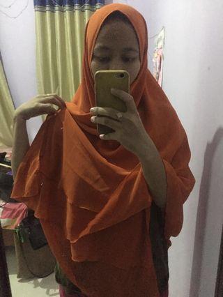 Hijab Khimar Panjang / Kerudung Khimar Panjang